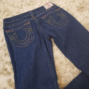 Bootcut True Religion jeans